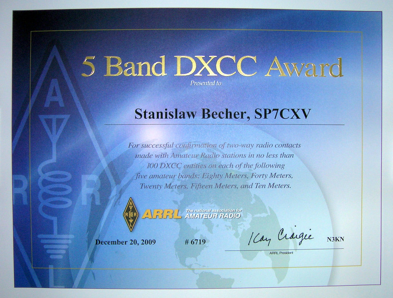 5 band dxcc